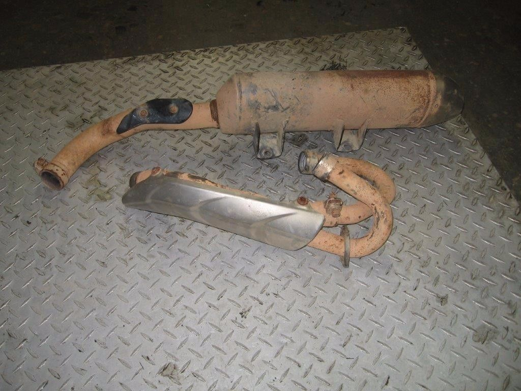 YAMAHA 2006 RAPTOR 700 2X4   COMPLETE  EXHAUST   PART 29,884