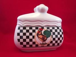 Rooster Napkin Holder, Kitchen, Chickens - $11.65