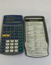 Texas instruments explorer plus gray calculator... - $9.25