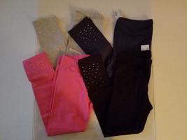 Children's Place Girls Legging Size S M  L XL Black Gray Pink Blue Sparkle - $13.99
