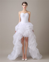 Simple Cheap High Low Wedding Dresses,Wedding Gown,Bridal Dress Gown Cheap 2017 - $159.00