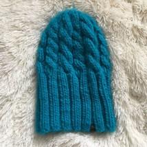 Roxy Teal Blue Knit Beanie - $18.56