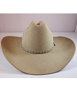 Mens Resistol Dry Gulch Stone XX Wool Cowboy Hat Size 6 3/4 Made in USA - $79.95