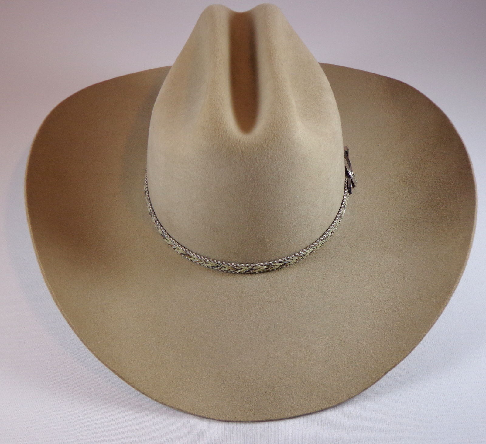 Mens Resistol Dry Gulch Stone XX Wool Cowboy Hat Size 6 3/4 Made in USA