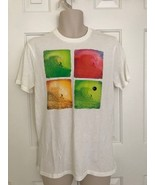 NWT Hollister Mens GRAPHIC TEE Shirt White 9784, LARGE - $7.90