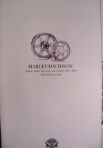 2001 Harley Davidson GENUINE Parts & Accessories Accessory Holiday Suppl Catalog - $8.89