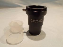 1.25-inch 2x Barlow Lens metal shorty astronomy telescope  M42 X 0.75 th... - $24.49