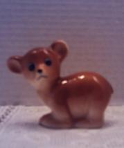 Vintage Brown Bear Cub Figurine Mid Cenutry Kit... - $8.50