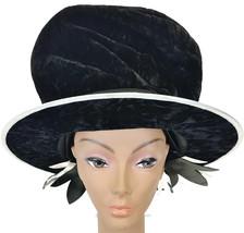 CIRQUE DU SOLEIL Black Velvet Top Hat - SALT LE... - $15.47