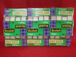 Scotch Magic Tape BNIB 24 Rolls/Pack - $34.83