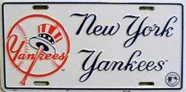 MLB New York NY Yankees License Plate Auto Tag - $8.95