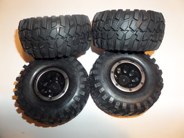 Redcat Racing Everest 1/10 Scale Crawler Wheels and Tires (4) - $49.95