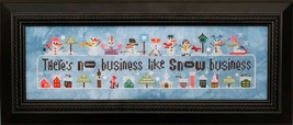 Snowscapes & Snow Squalls Part 2 cross stitch chart Heart In Hand  - $13.00