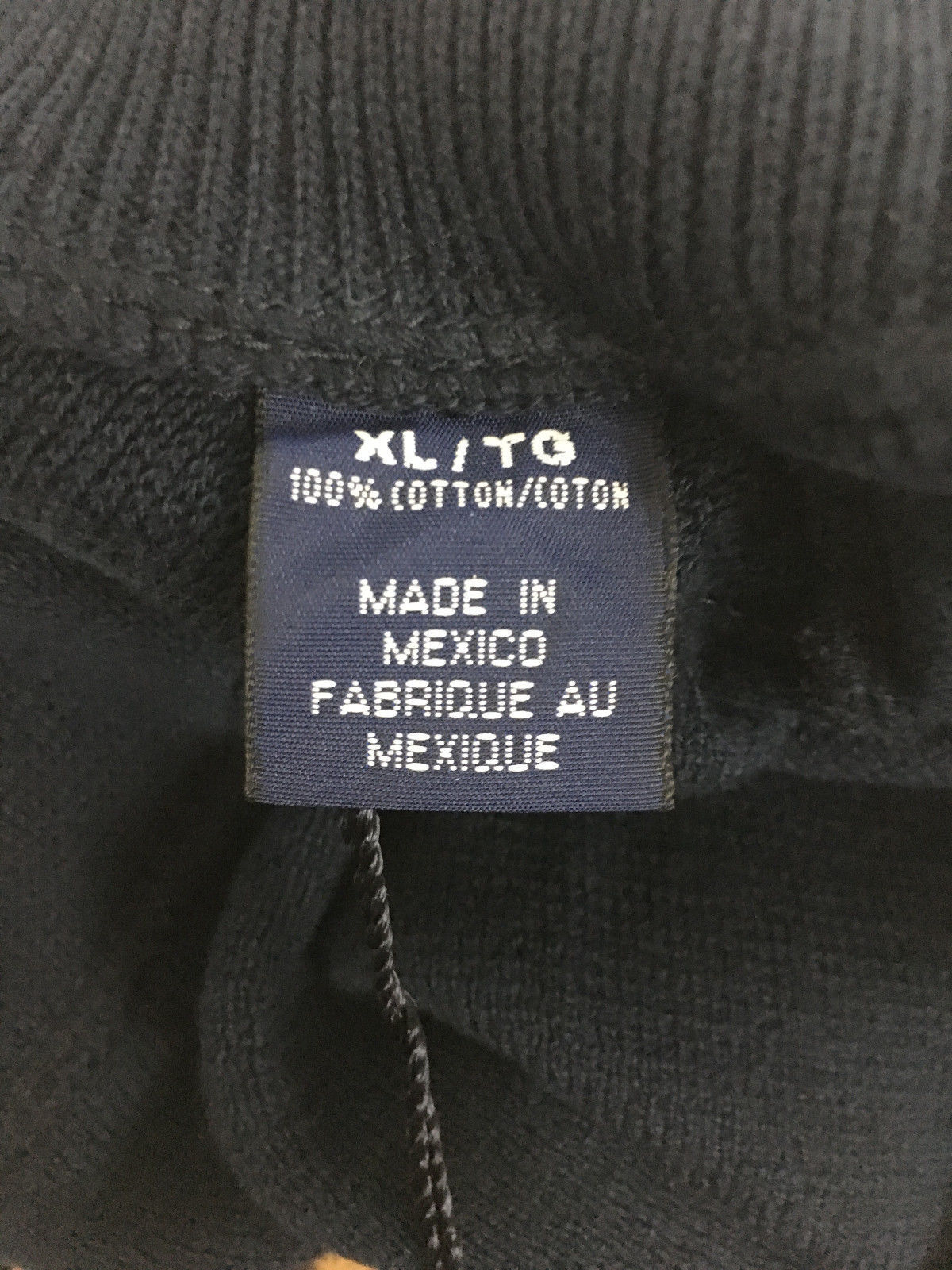 Cutter & Buck Dark Navy Vest RCA Cable Knit New With Tags Men's XL image 6