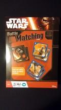 Disney STAR WARS The Force Awakens Battle Matching Memory Match Card Game - $20.00