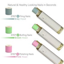 Fashion Hat Electric Nail Care System Quickly File Buff and Shine Nails ... - $23.00 CAD