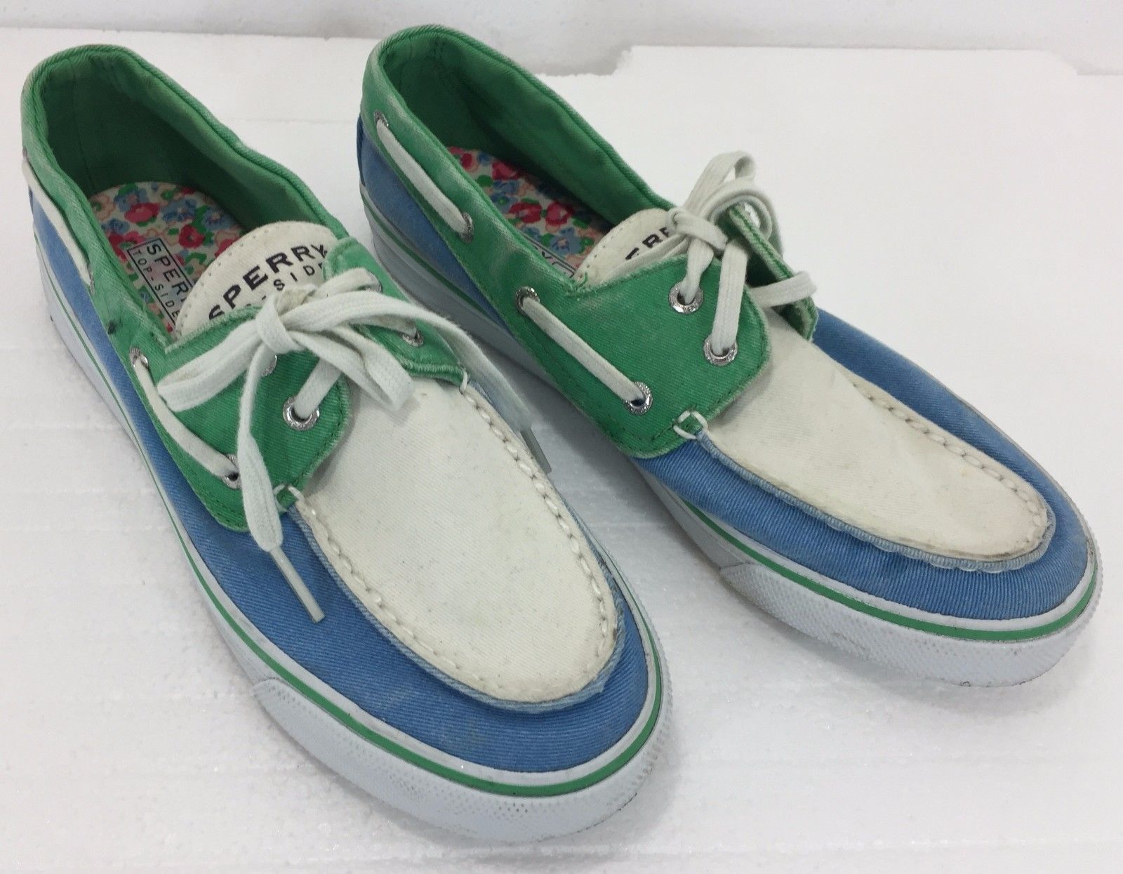 da53196786fd1 Sperry Top-Sider Womens 7.5M Blue Green and 50 similar items