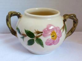 VTG Franciscan Desert Rose sugar bowl two handles - $24.75