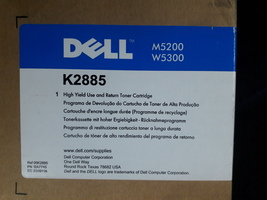 Dell Toner M5200 W5300 High Capacity K2885 New Genuine - $109.95
