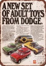 1978 Dodge Trucks Reproduction Metal Sign 8 x 12 - $14.24