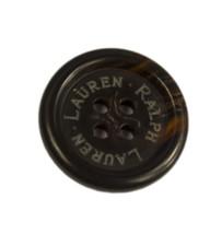 "Ralph Lauren Dark tortoise blend Plastic Replacement Sleeve  button .60"" - $2.92"