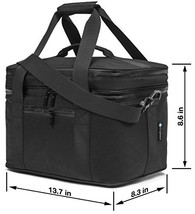 Cryost Cooler Insulated Lunch Bag Black h860 l1370 w830 w125 Small - $37.55