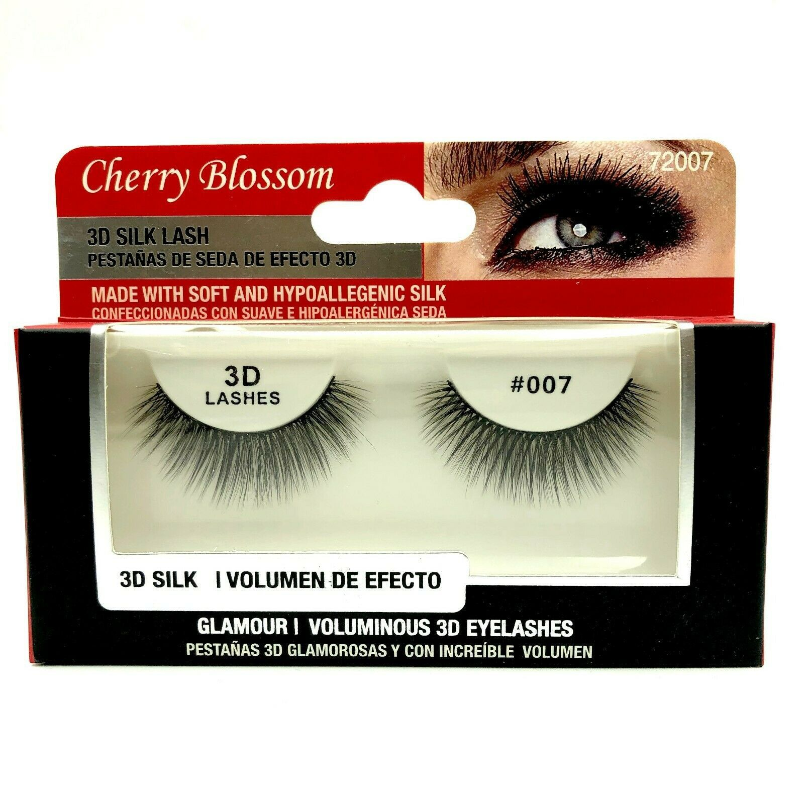 Primary image for CHERRY BLOSSOM SOFT AND DURABLE 3D VOLUME MINK LASHES #72007