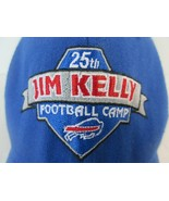 25th Jim Kelly Football Camp Buffalo Bills Fitted 7-7 3/8 Hat Flexfit Bl... - $18.18