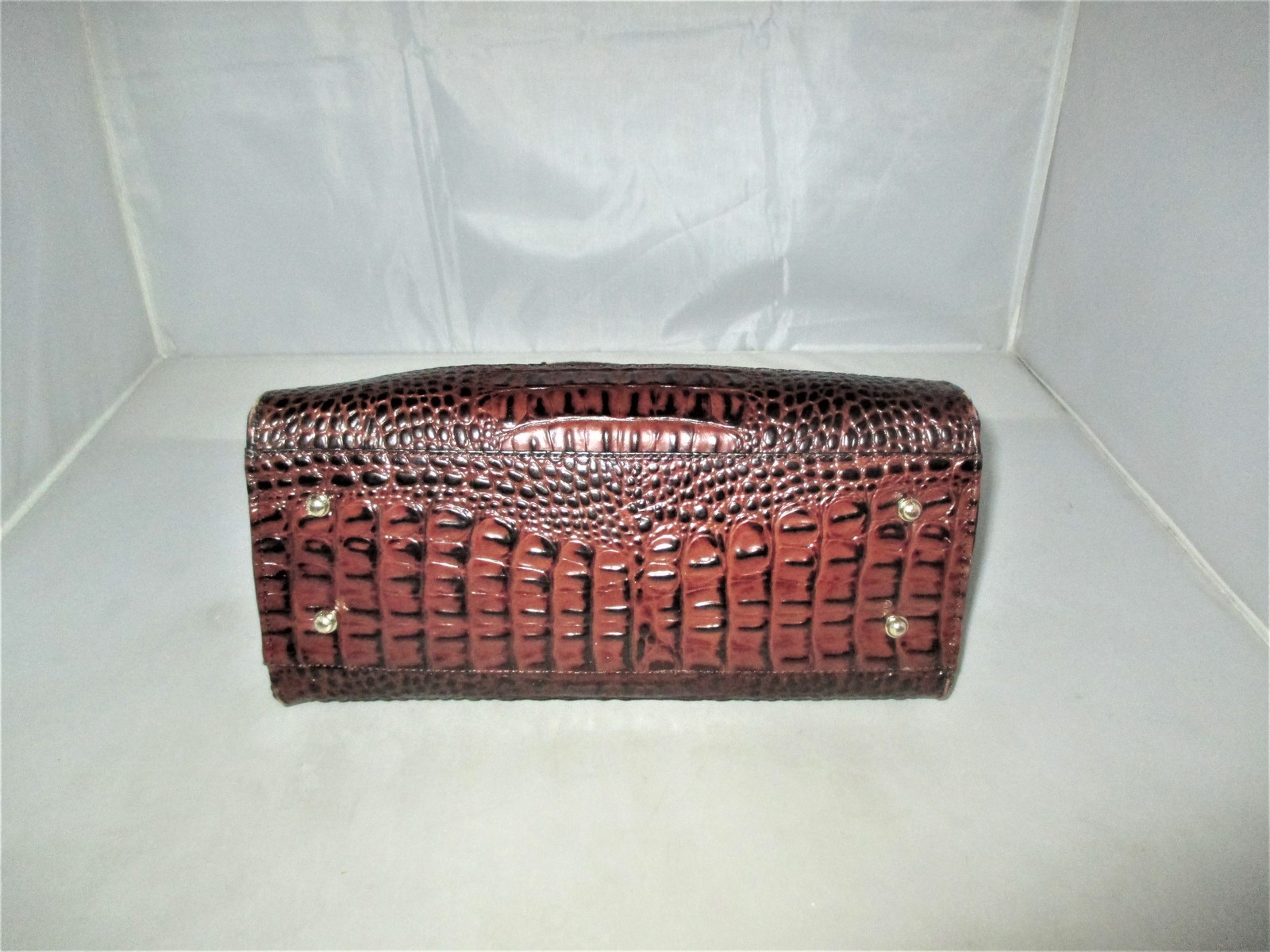 Brahmin Tuscan Tri-Texture Anywhere Convertible Satchel, Shoulder Bag,Tote $255 image 12