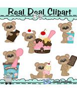 Cool Treats Bear Clip Art - $1.25