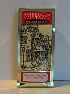 American Vintage Flavored Irish Cream Bold Roasted ground Coffee 10oz Free Ship