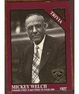 New York Giants Pitcher 1927 Mickey Welch Baseb... - $3.50