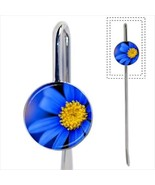 Blue Daisies Flowers Bookmark - Book Lover Novelty Gifts - $12.41