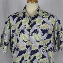 Cooke Street Honolulu Cotton Hawaiian Short Sleeve Button-Front Shirt Sz... - $22.43