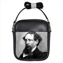 Charles Dickens Leather Sling Bag (Crossbody Shoulder) - $14.60