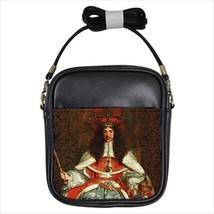 Charles II Of England Leather Sling Bag (Crossbody Shoulder) - $14.60