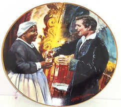 Gone with the Wind Collectors Plate Toast Bonnie Blue Bradford Exchange ... - $59.95