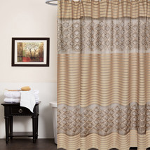 """Popular Bath Spindle Gold Collection Fabric 70""""... - $35.99"""