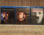 Hannibal Trilogy (3-Disc Blu-ray)Silence Of The Lambs/Rising.Oscar Winner.Foster