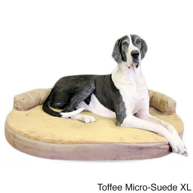 Extra large dog bed xl pet couch orthopedic memory foam for Xl dog sofa bed