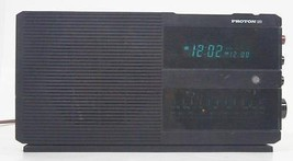Vintage Proton 320 Digital LED Dual Alarm Clock Radio Am Fm Receiver Wor... - $19.59