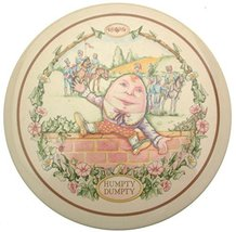 Wedgwood 1987 childrens wall plaque Humpty Dumpty Nursery Rhymes CP196 - $25.47