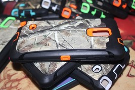 Orange Tree Camo Hybrid case with Screen Protector for Samsung Galaxy Note 4 - $8.90