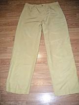 CHIC0'S DESIGN LT BEIGE RAYON/COTTON PANTS SIZE CHICO'S 2 - $17.40