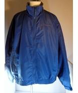 Cabelas Mens Blue Jacket Size 3XL Tall Fleece Lined - $69.95