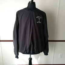 Slovak Club Golf League Embroidered Black Pull Over Jacket XL Made in USA - $19.34