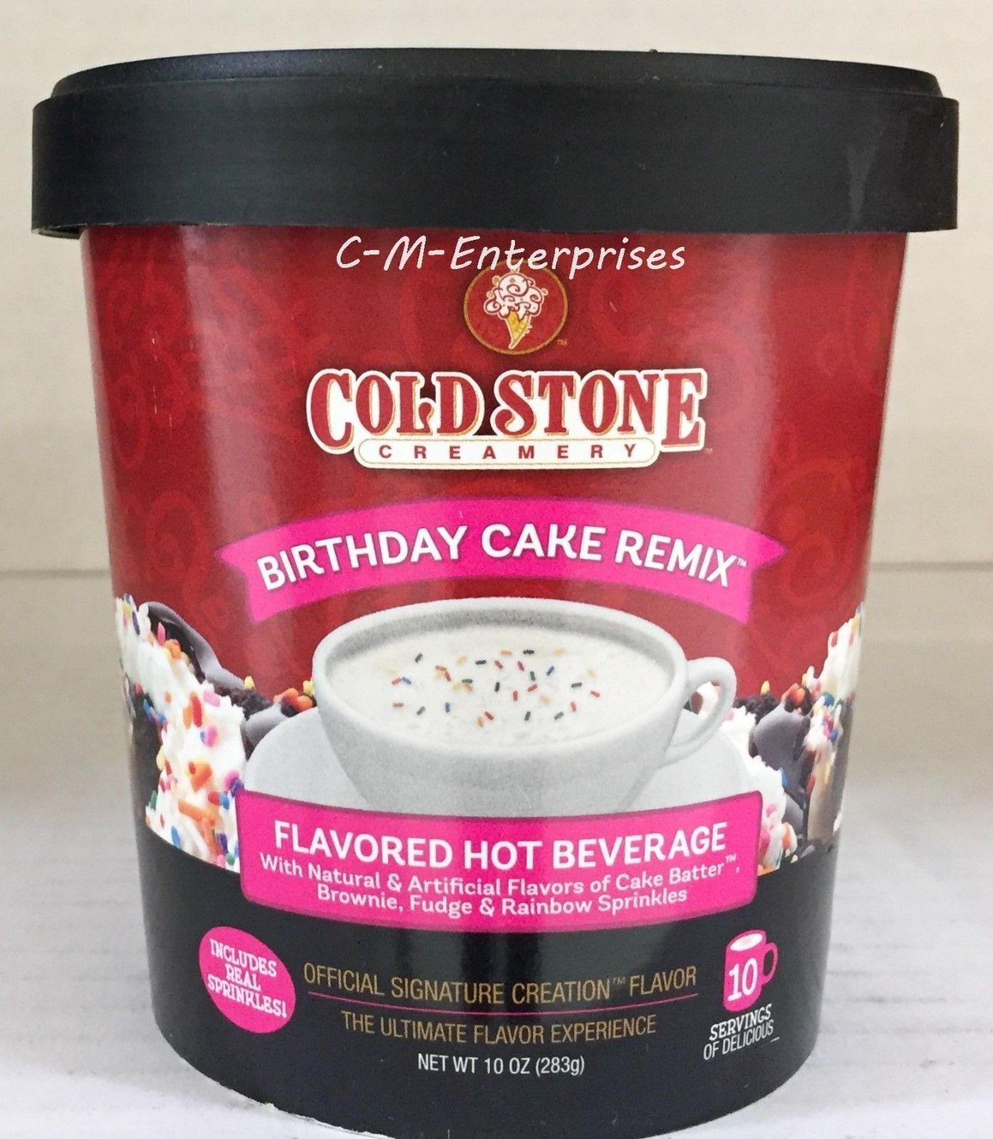 Cold Stone Birthday Cake Remix Hot Beverage