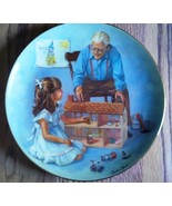 "Sandra Kuck Collector Plate ""Grandpa and the Do... - $10.99"
