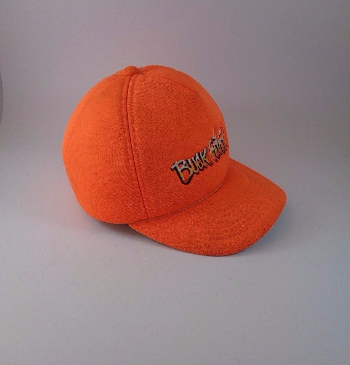 VTG BUCK FEVER HUNTING Embroidery Embroidered One Size Hat Baseball Cap Hunt