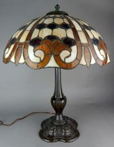 Duffner and Kimberly Geometric Brick pattern Lamp Circa 1910 - $3,950.00